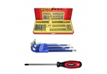 Screwdrivers, Hex Keys & Bits