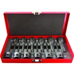 12 Piece 1/2'' Drive Impact Star Socket Set