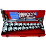 26 Piece 3/4'' Drive Metric & Af Socket Set