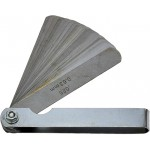 26 Blade Feeler Gauge, Round End, 89mm Long
