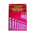 12 Piece Metric Combination Spanner Set